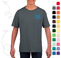 Детская футболка SoftStyle JN под нанесение логотипа, фото 1