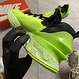 🔥 ВИДЕО ОБЗОР 🔥 Nike Air Jordan React Havoc VOLT Найк Эпик Рекат Джордан Зеленый 🔥 Найк мужские кроссовки, фото 4