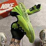 🔥 ВИДЕО ОБЗОР 🔥 Nike Air Jordan React Havoc VOLT Найк Эпик Рекат Джордан Зеленый 🔥 Найк мужские кроссовки, фото 3