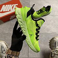 🔥 ВИДЕО ОБЗОР 🔥 Nike Air Jordan React Havoc VOLT Найк Эпик Рекат Джордан Зеленый 🔥 Найк мужские кроссовки