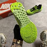 🔥 ВИДЕО ОБЗОР 🔥 Nike Air Jordan React Havoc VOLT Найк Эпик Рекат Джордан Зеленый 🔥 Найк мужские кроссовки, фото 5