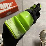🔥 ВИДЕО ОБЗОР 🔥 Nike Air Jordan React Havoc VOLT Найк Эпик Рекат Джордан Зеленый 🔥 Найк мужские кроссовки, фото 6