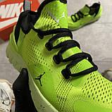 🔥 ВИДЕО ОБЗОР 🔥 Nike Air Jordan React Havoc VOLT Найк Эпик Рекат Джордан Зеленый 🔥 Найк мужские кроссовки, фото 8