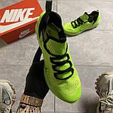 🔥 ВИДЕО ОБЗОР 🔥 Nike Air Jordan React Havoc VOLT Найк Эпик Рекат Джордан Зеленый 🔥 Найк мужские кроссовки, фото 9