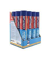 Упаковка монтажной пены. Ручная CONTUR 850 HAND (BOX 12 шт)