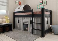 Детская кровать-чердак Адель венге сосна. Арбор.