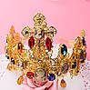Корона з хрестами сережки набір Зара в стилі Dolce&Gabbana Тіара Вікторія модна, фото 4