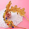 Корона з хрестами сережки набір Зара в стилі Dolce&Gabbana Тіара Вікторія модна, фото 2