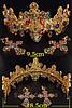 Корона з хрестами сережки набір Зара в стилі Dolce&Gabbana Тіара Вікторія модна, фото 5