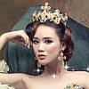 Корона з хрестами сережки набір Зара в стилі Dolce&Gabbana Тіара Вікторія модна, фото 9