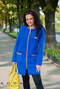 Женское пальто №98-035 БАТАЛ
