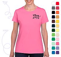 Женская футболка Heavy Cotton под нанесение логотипа, фото 1