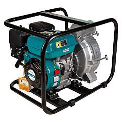 Мотопомпа 6.5 л. с. Hmax 29м Qmax 60 м3/год (4-х тактний) для брудної води LEO (772517)