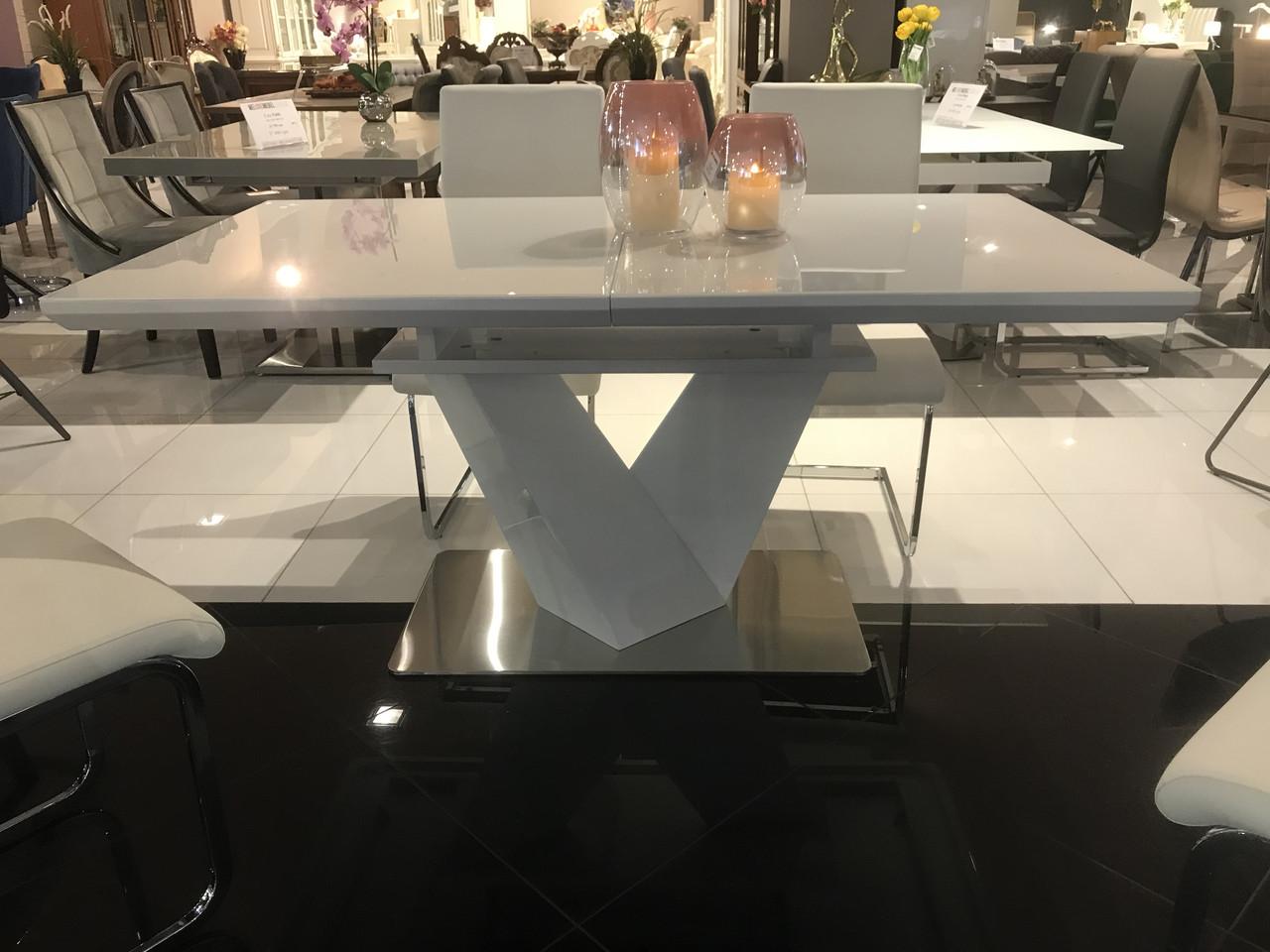 Раздвижной стол Николь 160/220 белый от Prestol