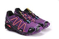 Кроссовки женские Salomon Speedcross 3 violet, фото 1