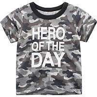 Крутая футболка для мальчика Герой дня 27 KIDS