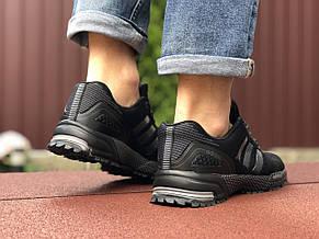 Кроссовки Adidas Marathon,сетка,черные, фото 3