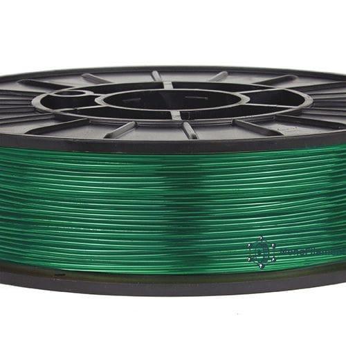 TPU 90A зелений напівпрозорий (MonoFilament)