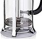 Френч-пресс для заваривания Vinzer 69368 (350 мл) нержавеющая сталь + стекло | заварник | заварочный чайник, фото 4