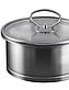 Ковш с крышкой Vinzer Universum 89058 (1 л) нержавеющая сталь | сотейник | ковшик, молочник Винзер, фото 2