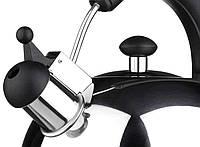 Чайник со свистком Vinzer 89000 (2,5 л) из нержавеющей стали, бакелитовая ручка   чайник для плиты Винзер, фото 1