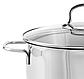 Кастрюля с крышкой Vinzer Techno Series 89076 (0.7 л) нерж. сталь | набор посуды Винзер | кастрюли, посуда, фото 2