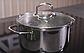 Кастрюля с крышкой Vinzer Techno Series 89083 (5 л) нерж. сталь   набор посуды Винзер   кастрюли, посуда, фото 5