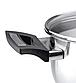 Кастрюля с крышкой + таймер Vinzer 89088 (2.4 л) нерж. сталь | набор посуды Винзер | кастрюли, посуда, фото 4