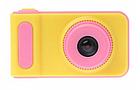 Цифровий фотоапарат дитячий Smart Kids Camera V7 Рожевий, фото 2