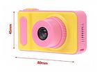 Цифровий фотоапарат дитячий Smart Kids Camera V7 Рожевий, фото 3