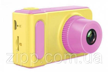 Цифровий фотоапарат дитячий Smart Kids Camera V7 Рожевий