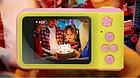 Цифровий фотоапарат дитячий Smart Kids Camera V7 Рожевий, фото 6