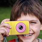Цифровий фотоапарат дитячий Smart Kids Camera V7 Рожевий, фото 7