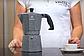 Гейзерная кофеварка Vinzer Moka Granito 89399 из кованого алюминия на 9 чашек   мока для кофе Винзер, фото 7