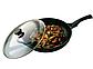 Сковорода с крышкой Vinzer Cast Form Line 89407 (24 см) антипригарное покрытие   сковородка Винзер, фото 5