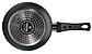 Сковорода глубокая Vinzer Granite Induction 89431 (24 см) антипригарное покрытие | сотейник Винзер, фото 4