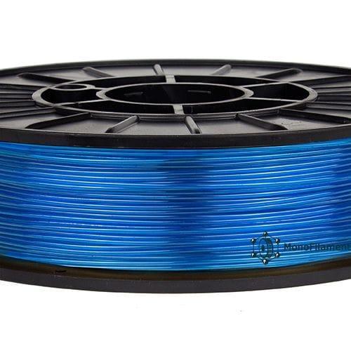 TPU 40D синій напівпрозорий (MonoFilament)