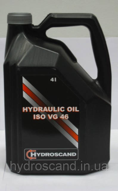 Гидравлическое масло Гидросканд ISO VG 46, канистра 4 литра