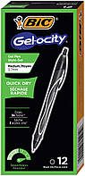 Набір гелевих ручок BIC Gel-Ocity Quick Dry Retractable Gel Pen, 0.7 mm, Black (RGLCG11-BLK) (B01MSBOBM7)