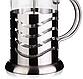 Френч-пресс для заваривания Vinzer 69369 (350 мл) нержавеющая сталь + стекло | заварник | заварочный чайник, фото 3