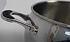 Набор посуды Vinzer Astro 89038 (7 пр.) нержавеющая сталь | кастрюля, кастрюли, сотейник, посуда Винзер, фото 4