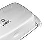 Масленка металлическая Vinzer 89242 | тарелка с крышкой для масла Винзер, емкость под масло нержавеющая, фото 2