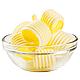 Масленка металлическая Vinzer 89242 | тарелка с крышкой для масла Винзер, емкость под масло нержавеющая, фото 3