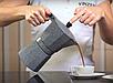 Гейзерная кофеварка Vinzer Moka Granito 89398 из кованого алюминия на 6 чашек | мока для кофе Винзер, фото 4