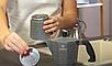 Гейзерная кофеварка Vinzer Moka Granito 89398 из кованого алюминия на 6 чашек | мока для кофе Винзер, фото 5