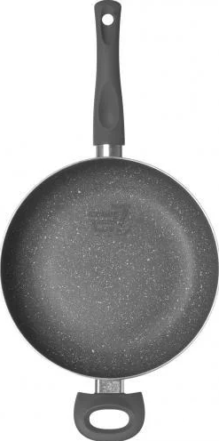 Сковорода - сотейник с крышкой Vinzer Stone Induction Line 89425 (26 см) антипригарная   сковородка Винзер