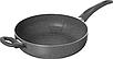 Сковорода - сотейник с крышкой Vinzer Stone Induction Line 89425 (26 см) антипригарная   сковородка Винзер, фото 2