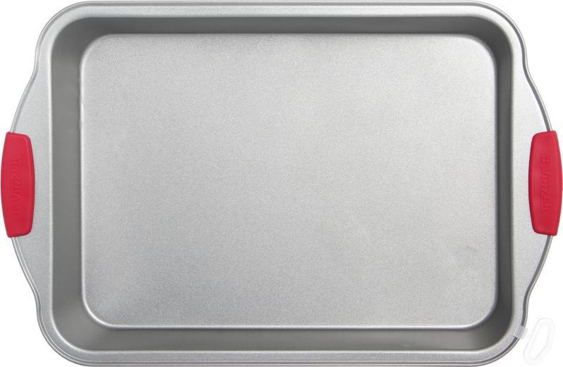 Форма для запекания Vinzer 89483 прямоугольная (37 см) | форма для выпечки Винзер | противень с ручками