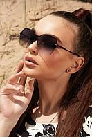 Солнцезащитные женские очки с двухцветными линзами (1380.4134 svt)