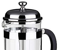 Френч-пресс для заваривания Vinzer 69368 (350 мл) нержавеющая сталь + стекло | заварник | заварочный чайник